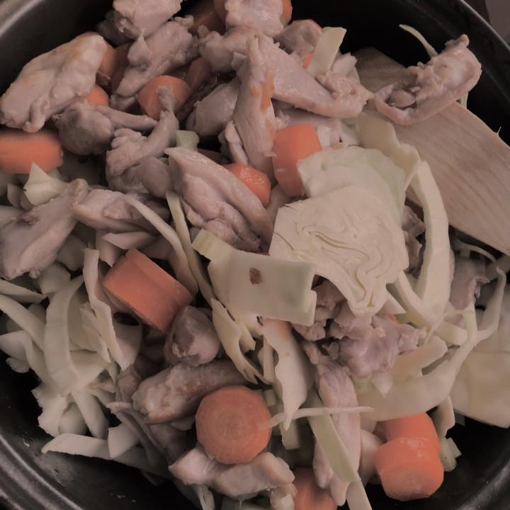 Kaalipata, kana ja lime