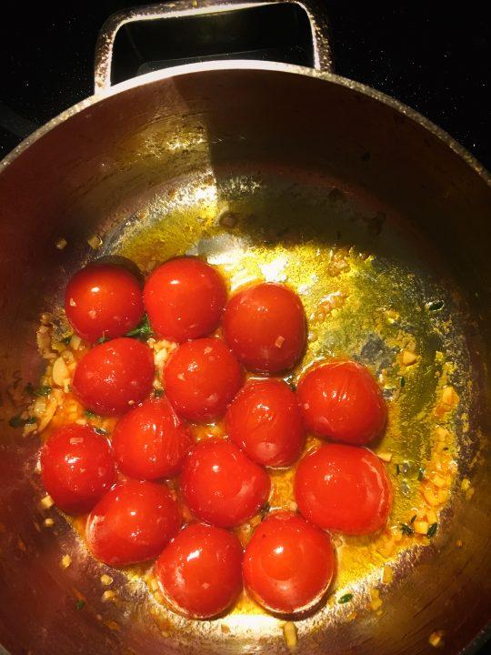 Pikaruokaa tomaatista